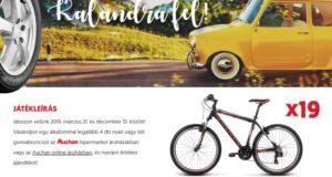 Auchan nyereményjáték - nyerj az autógumival! A játék december 31-ig tart
