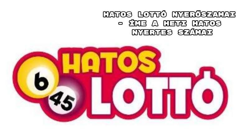 Hatos lotto nyersz mai mai Top Trending in Hungary